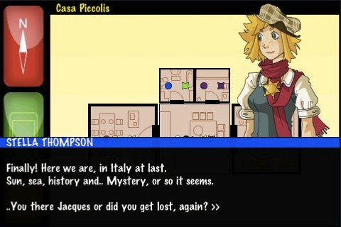 Screenshot Jacques & Stella's Mystery Files Club