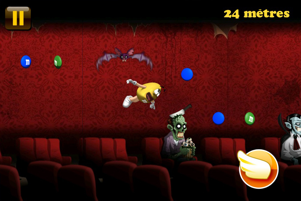 Screenshot M&M's® Ciné