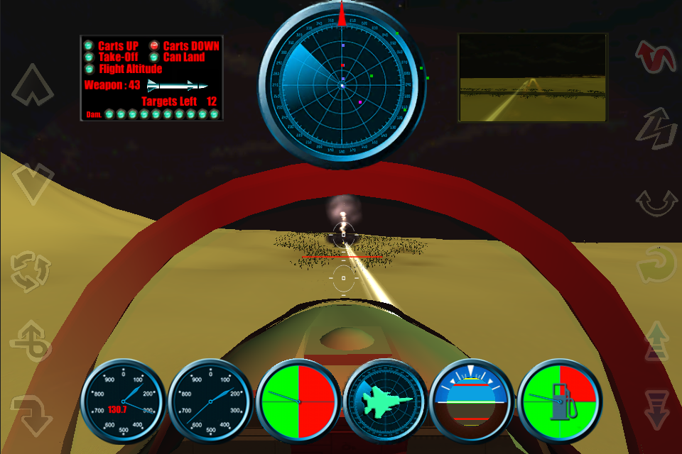 Screenshot F15FlyingBattle FREE